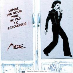 Carte Miss.Tic - Suivre son désir... - 14x14 cm