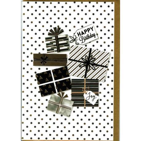 Carte Very Chic - Happy Birthday Joy - 12x17 cm