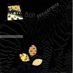 Carte Deco et Découpe - Bon anniversaire le zèbre - DD30 - 14.5x14.5 cm