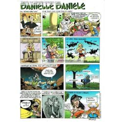 Carte prénom en BD - Danielle - 15x21 cm