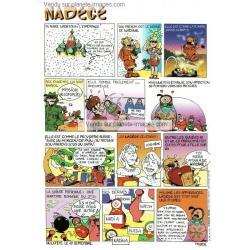Carte prénom en BD - Nadège - 15x21 cm