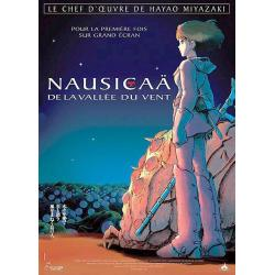 Affiche Nausicaä avec Gorô Naya - Hayao Miyazaki, Tomoko Kida - 40x53 cm