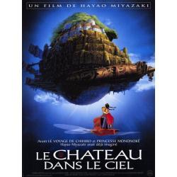 Affiche Le château dans le ciel avec Mayumi Tanaka - Hayao Miyazaki - 40x53 cm