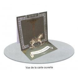Carte 3D à poser - Une surprise pour parcourir les rêves... - 8x16x16 cm