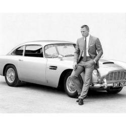 Affiche James Bond - Daniel Craig - 24x30 cm