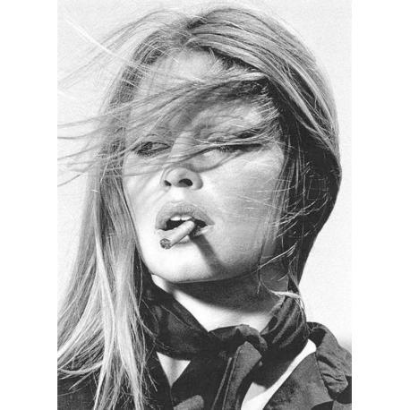 Affiche Brigitte Bardot - Affiche 50x70 cm