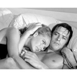 Affiche La Piscine - Alain Delon Romy Schneider - Dimension 24x30 cm