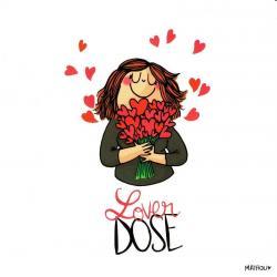 Carte Mathou - Lover dose - 14x14 cm