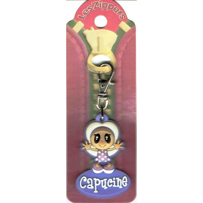 Porte cl s zipper pr nom capucine cm env - Porte prenom ...