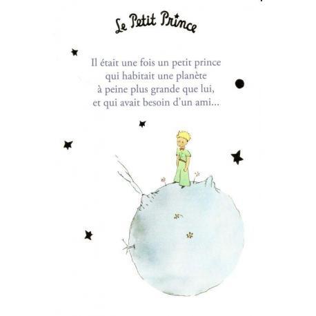 Carte Le Petit Prince De Saint Excupéry Il était Une Fois Un Petit Prince 10x15 Cm Planete Images Com