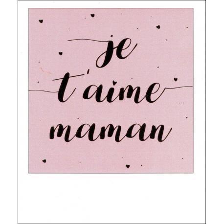 Citation Je Taime Maman