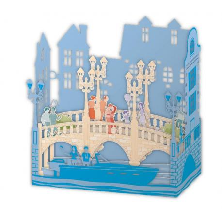 Carte Relief Pop Up - Venise - PL48 - 11x5x11.5 cm