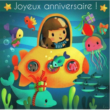 Carte Elen Lescoat Titi Pinson Joyeux Anniversaire Le Monde