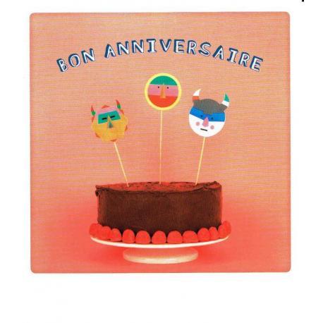 Carte Pickmotion de @Milittleday - Bon anniversaire - 10.5x13 cm