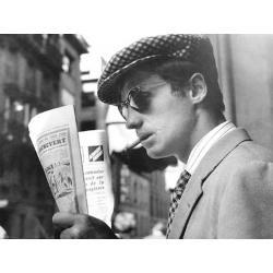 Affiche A bout de souffle avec J.P Belmondo - 40x50 cm