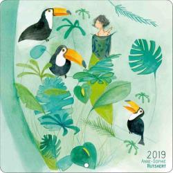 Calendrier 2019 Anne Sophie Rutsaert - Etre aimée - 30x30 cm