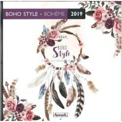 Calendrier collector 2019 Boho style - Bohème - 30x30 cm