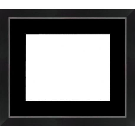 Cadre Tucson 35mm - 34x40 cm Noir et argent
