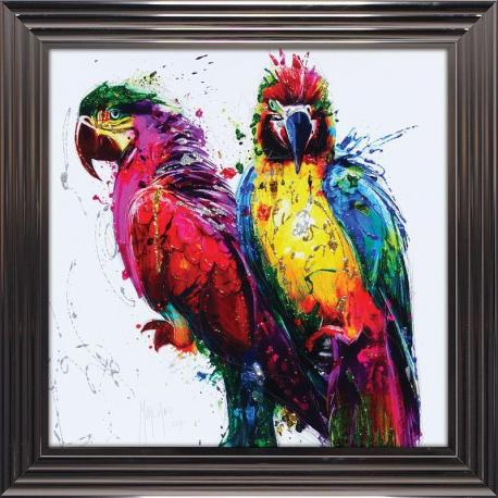 Tableau de Patrice Murciano - Tropical Colors - 84x84 cm