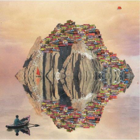 Carte Maïlo - L'île du bout du monde - 14x14 cm