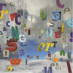 Carte Maïlo - Des lettres pour le dire : rêvez ! - 14x14 cm