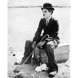 Affiche Charlie Chaplin - Le cirque 1928 - Dimension 24x30 cm