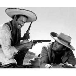 Affiche Clint Eastwood - Le bon, la brute, le Truand - Dimension 24x30 cm