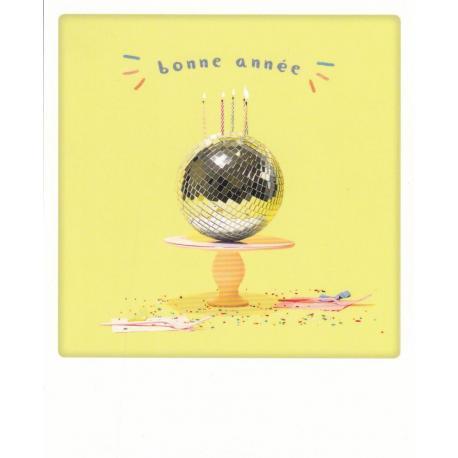 Carte Noël Pickmotion de @Dizzydisco - Une belle et heureuse année - 10.5x13 cm