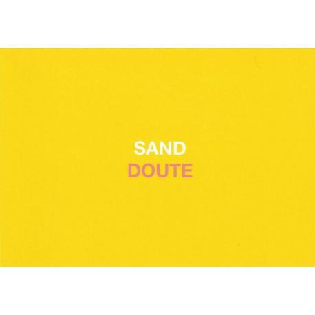 Carte humour de Paola Sidgwick - SAND DOUTE - 10.5x15 cm