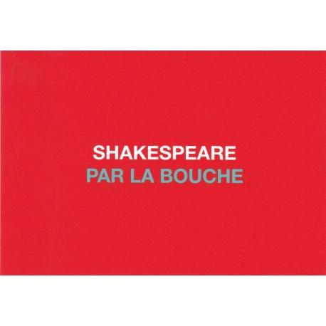 Carte humour de Paola Sidgwick - SHAKESPEARE PAR LA BOUCHE - 10.5x15 cm