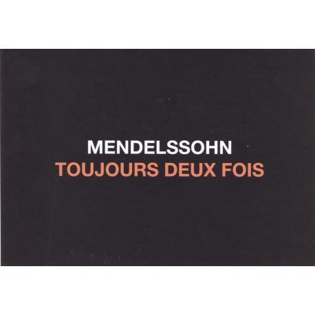 Carte humour de Paola Sidgwick - MENDELSSOHN TOUJOURS DEUX FOIS - 10.5x15 cm