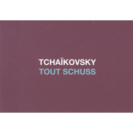Carte humour de Paola Sidgwick - TCHAIKOVSKY TOUT SHUSS - 10.5x15 cm
