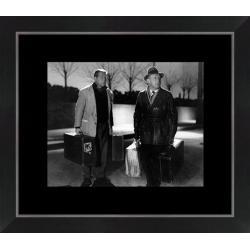 Affiche encadrée La Traversée de Paris - Gabin Bourvil - Dimension 24x30 cm