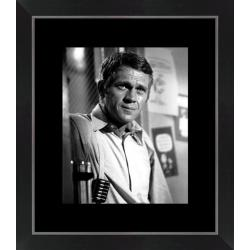 Affiche encadrée Bullitt - Steve Mc Queen - Dimension 24x30 cm