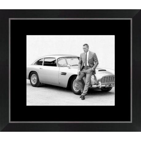 Affiche encadrée James Bond - Daniel Craig - 24x30 cm