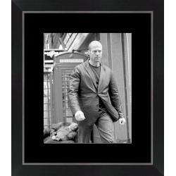 Affiche encadrée Jason Statham - 24x30 cm