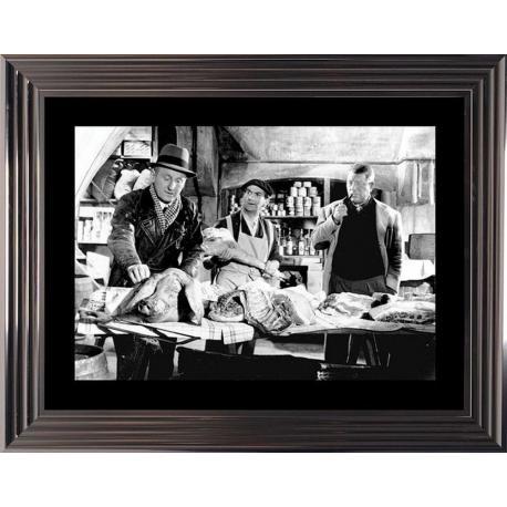 Affiche encadrée La Traversée de Paris - Gabin Bourvil Funés - 50x70 cm