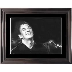 Jacques Higelin - En concert - Affiche encadrée 50x70 cm