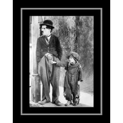 Affiche encadrée Le Kid - Charlie Chaplin - 50x70 cm