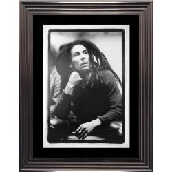 Bob Marley - Affiche encadrée 50x70 cm