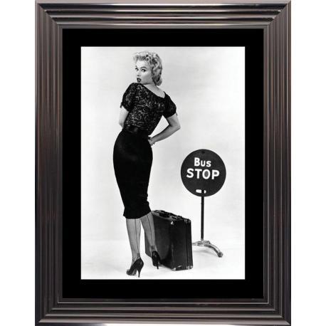 Affiche encadrée Bus Stop - Marilyn Monroe - 50x70 cm