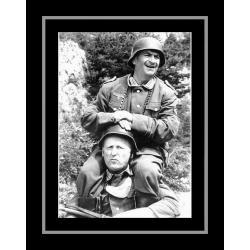 Affiche encadrée La grande vadrouille - De Funes , Bourvil - 50x70 cm