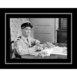 Affiche encadrée Le Gendarme de St Tropez - De Funes en cuisine - 50x70 cm