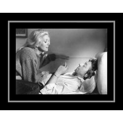 Affiche encadrée Je vous aime - Deneuve Gainbourg - Affiche encadrée 50x70 cm