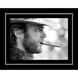 Affiche encadrée Clint Eastwood - Affiche encadrée 50x70 cm