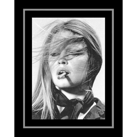Affiche encadrée Brigitte Bardot - Affiche encadrée 50x70 cm