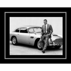 Affiche encadrée James Bond - Daniel Craig - Affiche encadrée 50x70 cm