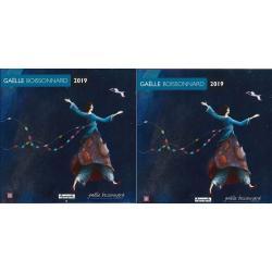 2 Calendrier collectors 2019 Gaëlle Boissonnard - Promenade spatiale - 30x30 cm (-5%)