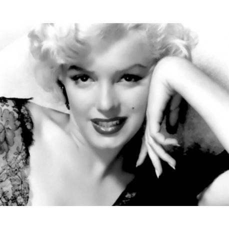 Affiche Marylin Monroe - Portrait - Dimension 24x30 cm