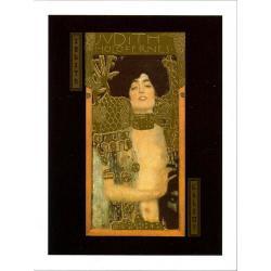 """Affiche Gustav Klimt """"Judith Holofernes"""" 60x80 cm"""